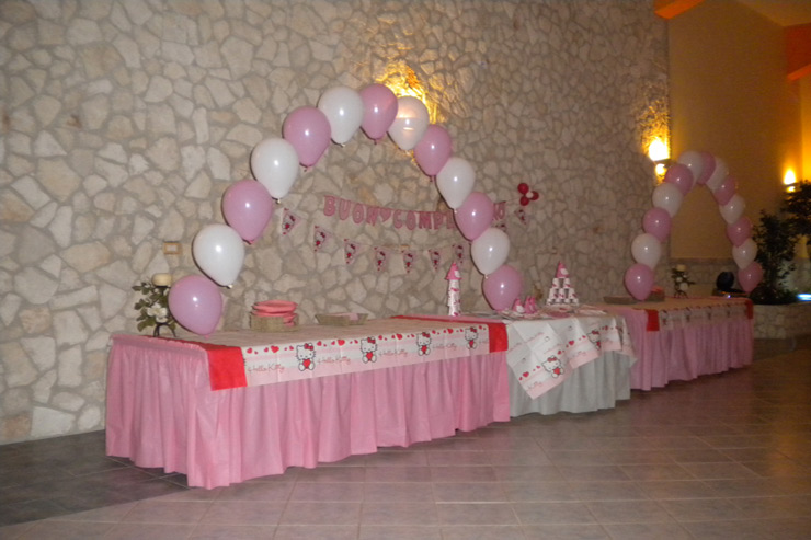 Addobbi con palloncini per bambini magic party feste for Addobbi per feste in piscina